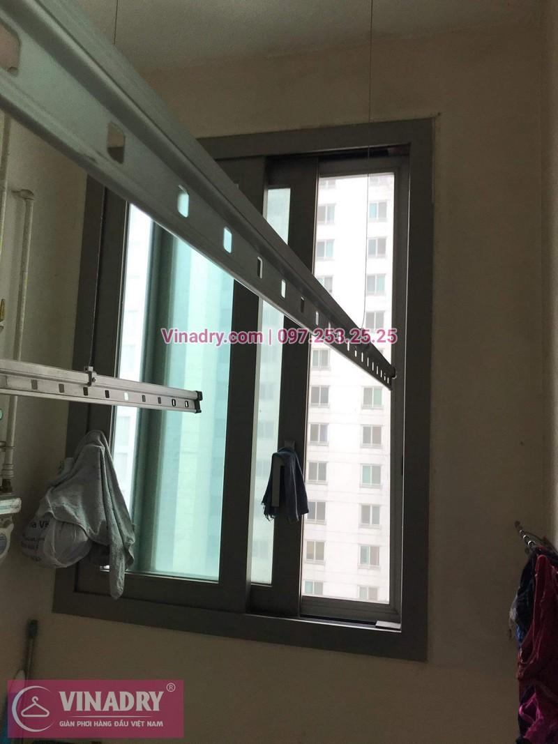 Vinadry lắp giàn phơi Hòa Phát giá rẻ HP999B tại chung cư Hyundai Hillstate, Hà Đông cho nhà anh Ngữ - 07