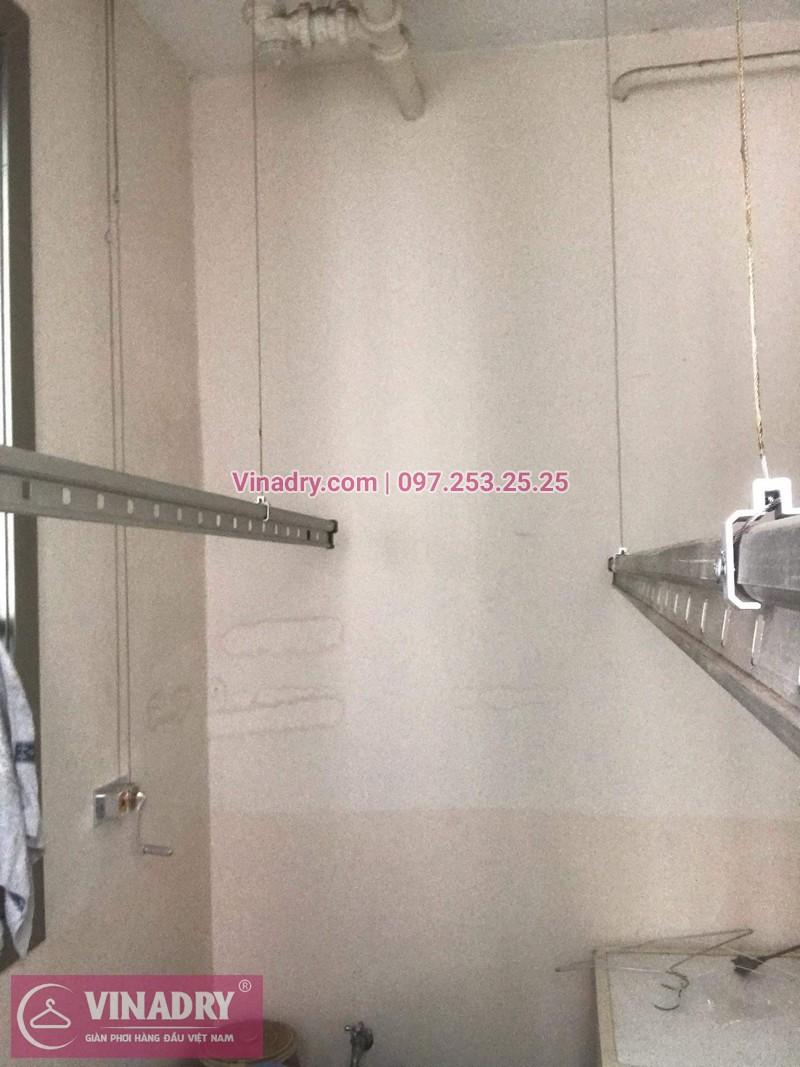 Vinadry lắp giàn phơi Hòa Phát giá rẻ HP999B tại chung cư Hyundai Hillstate, Hà Đông cho nhà anh Ngữ - 08