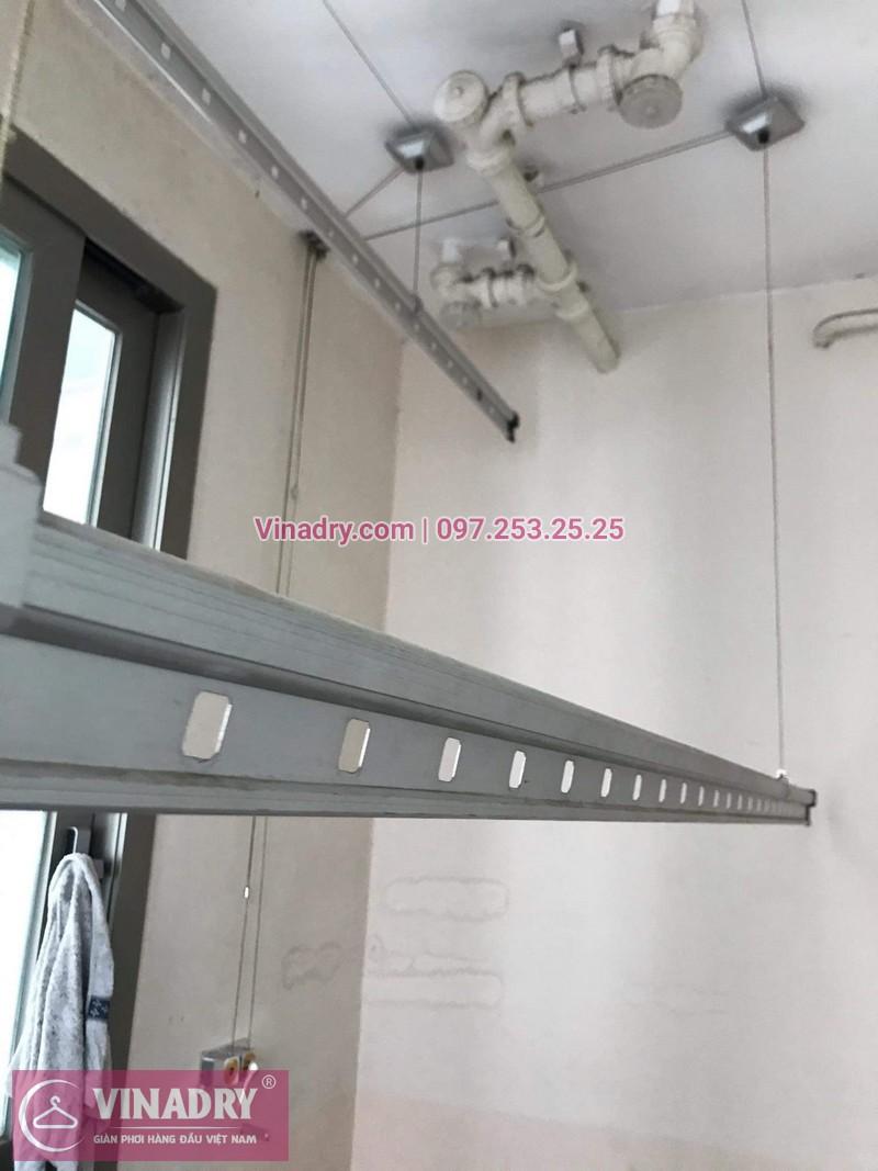 Vinadry lắp giàn phơi Hòa Phát giá rẻ HP999B tại chung cư Hyundai Hillstate, Hà Đông cho nhà anh Ngữ - 09