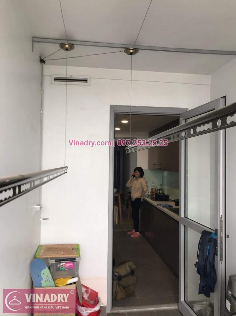 Vinadry lắp giàn phơi Hòa Phát HP999B tại chung cư Imperial Thanh Xuân cho nhà anh Tâm - 04