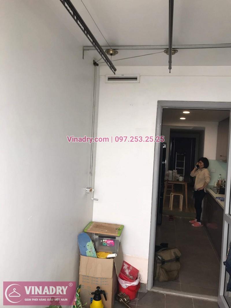 Vinadry lắp giàn phơi Hòa Phát HP999B tại chung cư Imperial Thanh Xuân cho nhà anh Tâm - 02