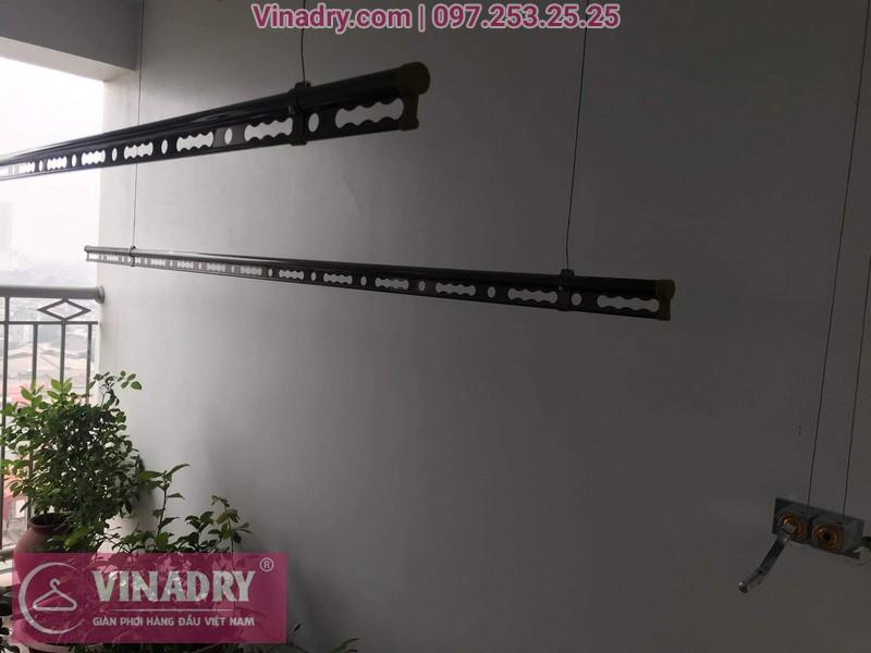 Vinadry lắp giàn phơi Hòa Phát HP999B tại chung cư Imperial Thanh Xuân cho nhà anh Tâm - 03