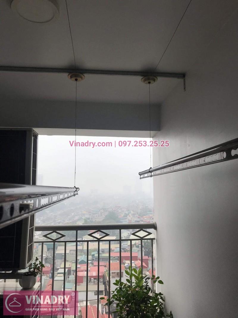 Vinadry lắp giàn phơi Hòa Phát HP999B tại chung cư Imperial Thanh Xuân cho nhà anh Tâm - 07