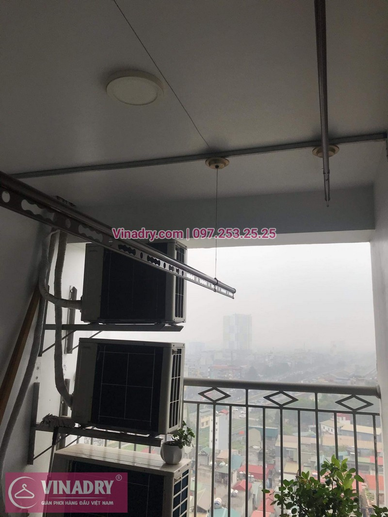 Vinadry lắp giàn phơi Hòa Phát HP999B tại chung cư Imperial Thanh Xuân cho nhà anh Tâm - 08