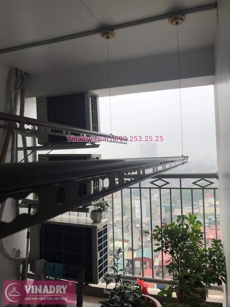 Vinadry lắp giàn phơi Hòa Phát HP999B tại chung cư Imperial Thanh Xuân cho nhà anh Tâm - 09
