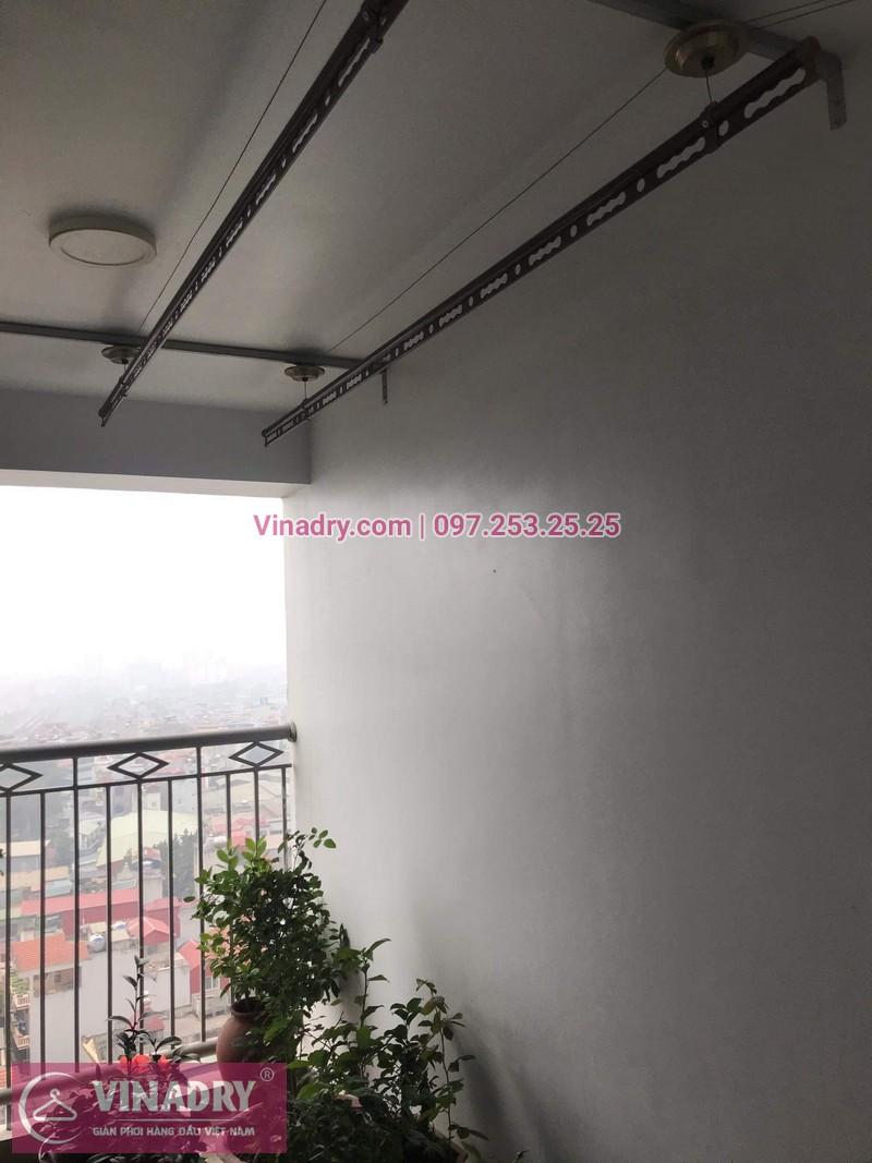 Vinadry lắp giàn phơi Hòa Phát HP999B tại chung cư Imperial Thanh Xuân cho nhà anh Tâm - 10