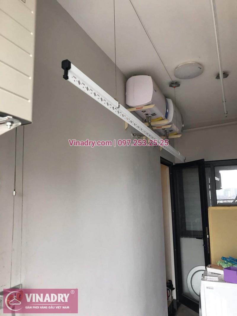 Vinadry lắp đặt giàn phơi HP999B tại Hoàng Mai, chung cư HUD3 Nguyễn Đức Cảnh cho nhà anh Họa - 01