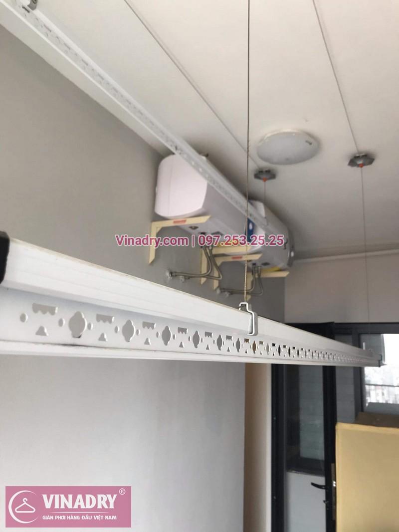 Vinadry lắp đặt giàn phơi HP999B tại Hoàng Mai, chung cư HUD3 Nguyễn Đức Cảnh cho nhà anh Họa - 02