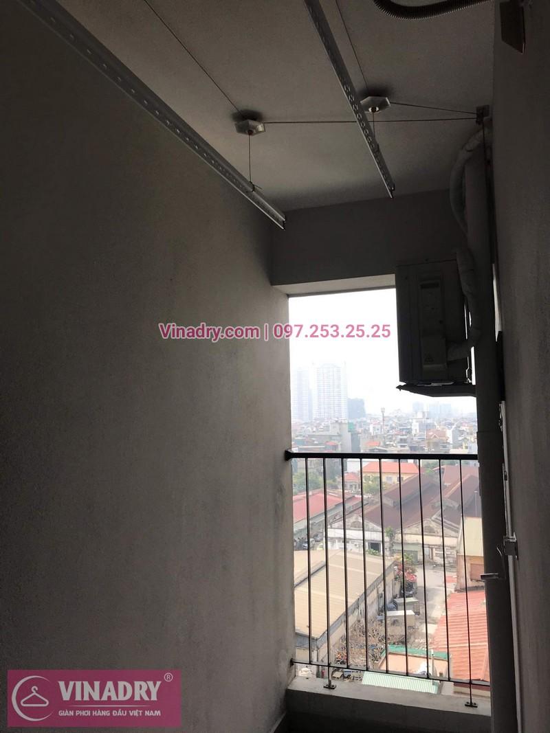 Vinadry lắp đặt giàn phơi HP999B tại Hoàng Mai, chung cư HUD3 Nguyễn Đức Cảnh cho nhà anh Họa - 06