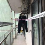 Lắp giàn phơi KS950 và lưới an toàn ban công tại VP4 Linh Đàm, Hoàng Mai cho nhà cô Lộc