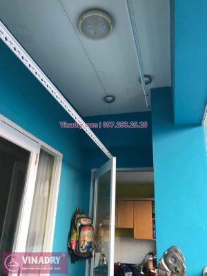 Vinadry lắp giàn phơi HB999B tại Long Biên cho nhà anh Tính tại căn 1107, chung cư Sunrise Building Sài Đồng - 04