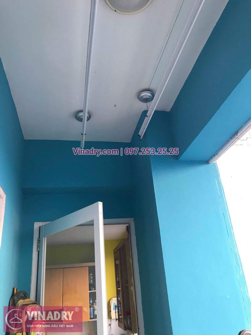 Vinadry lắp giàn phơi HB999B tại Long Biên cho nhà anh Tính tại căn 1107, chung cư Sunrise Building Sài Đồng - 07