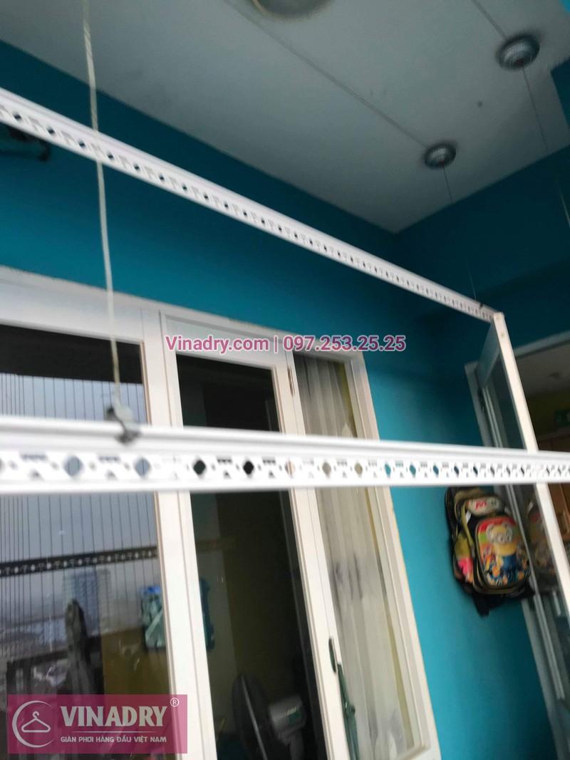 Vinadry lắp giàn phơi HB999B tại Long Biên cho nhà anh Tính tại căn 1107, chung cư Sunrise Building Sài Đồng - 10