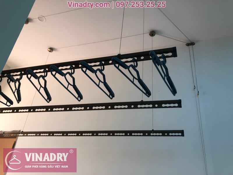 Vinadry lắp 2 bộ giàn phơi thông minh GP941 tại Đông Anh cho nhà anh Pháp 01