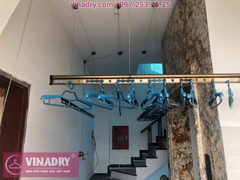 Vinadry lắp 2 bộ giàn phơi thông minh GP941 tại Đông Anh cho nhà anh Pháp