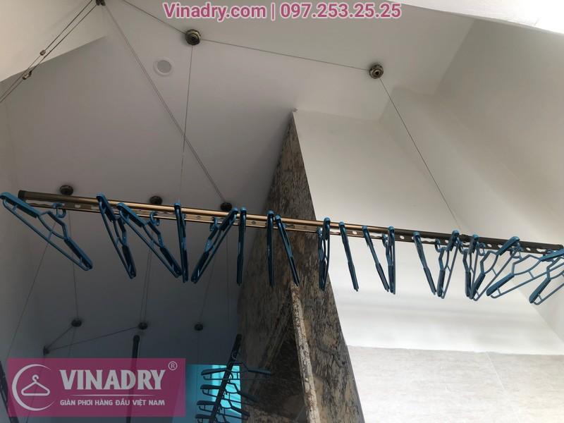 Vinadry lắp 2 bộ giàn phơi thông minh GP941 tại Đông Anh cho nhà anh Pháp 03