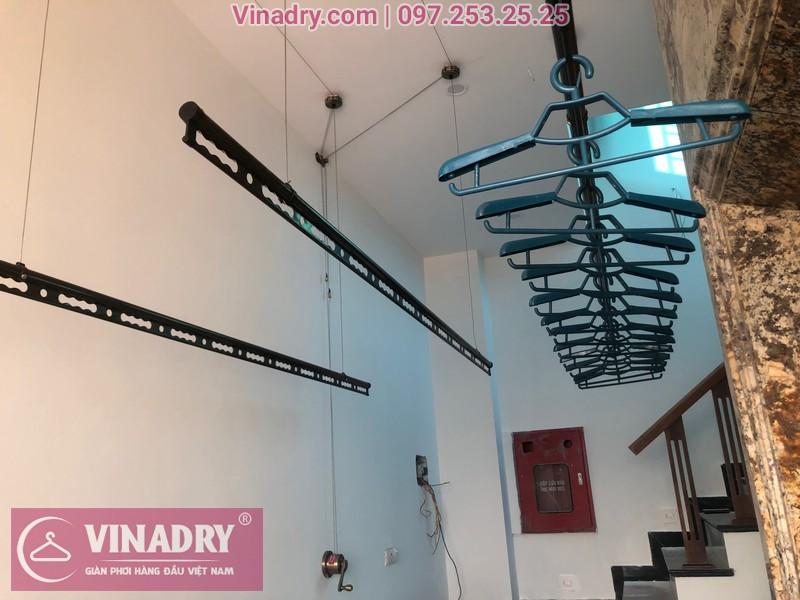 Vinadry lắp 2 bộ giàn phơi thông minh GP941 tại Đông Anh cho nhà anh Pháp 05