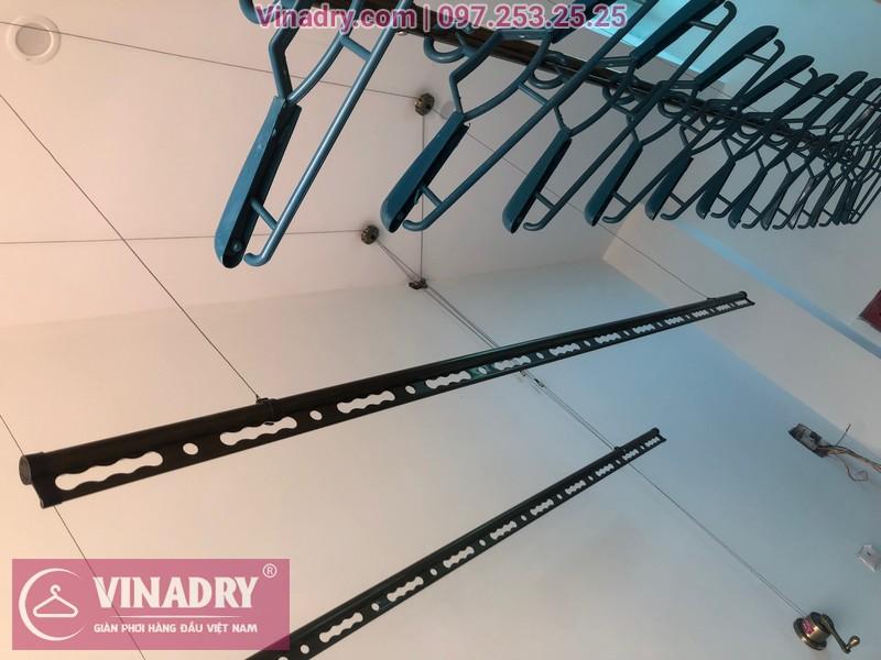 Vinadry lắp 2 bộ giàn phơi thông minh GP941 tại Đông Anh cho nhà anh Pháp 07