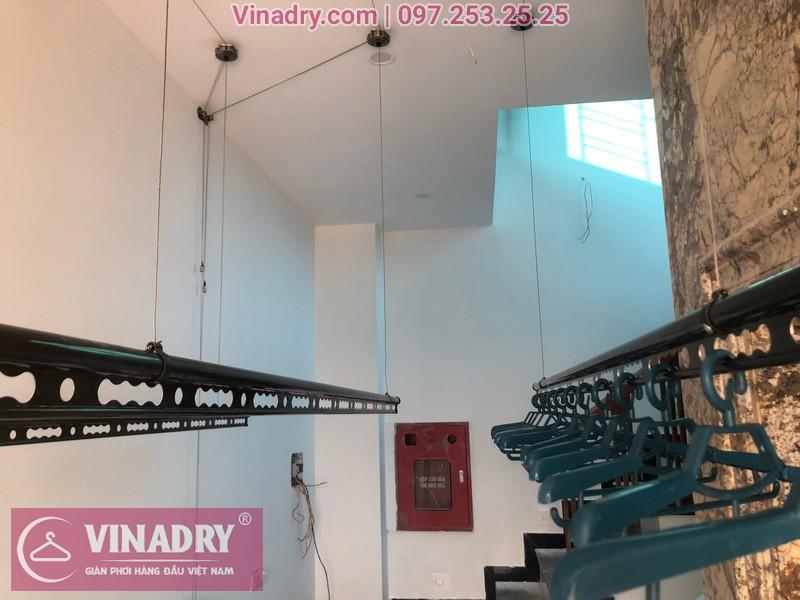 Vinadry lắp 2 bộ giàn phơi thông minh GP941 tại Đông Anh cho nhà anh Pháp 08