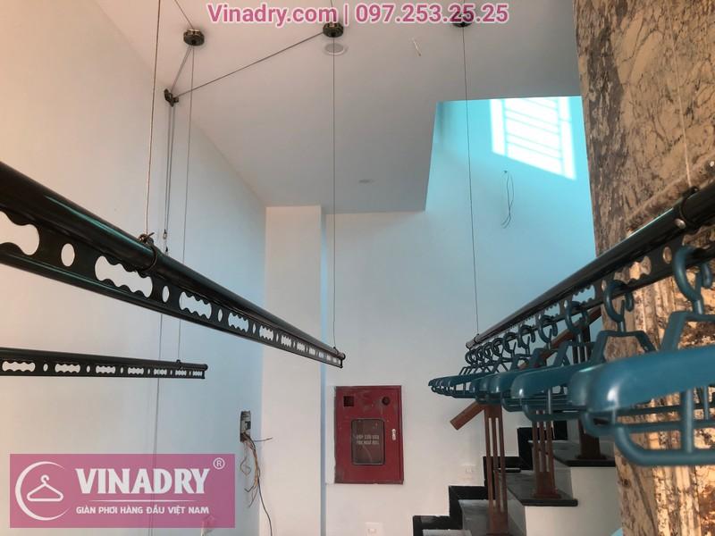 Vinadry lắp 2 bộ giàn phơi thông minh GP941 tại Đông Anh cho nhà anh Pháp 09