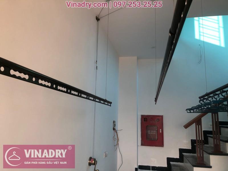 Vinadry lắp 2 bộ giàn phơi thông minh GP941 tại Đông Anh cho nhà anh Pháp 100