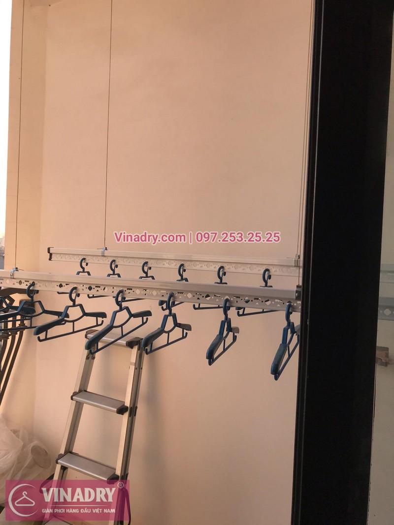 Vinadry lắp giàn phơi thông minh HP701 tại Royal City, căn 1010, tòa R5A cho gia đình anh Ký - 05
