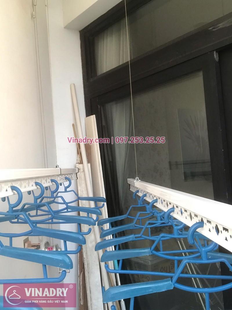 Vinadry lắp giàn phơi thông minh HP701 tại Royal City, căn 1010, tòa R5A cho gia đình anh Ký - 01