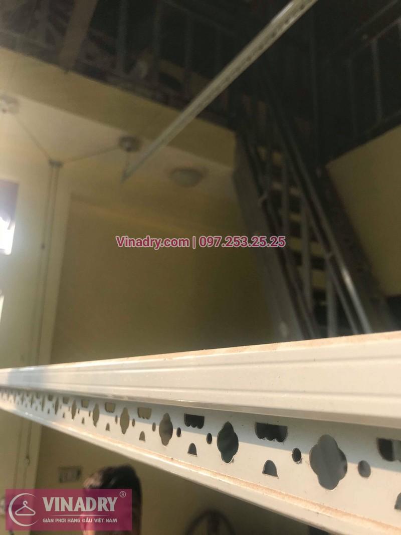 Vinadry lắp giàn phơi thông minh HP368 tại Hai Bà Trưng, phường Bạch Đằng cho nhà anh Đại - 01