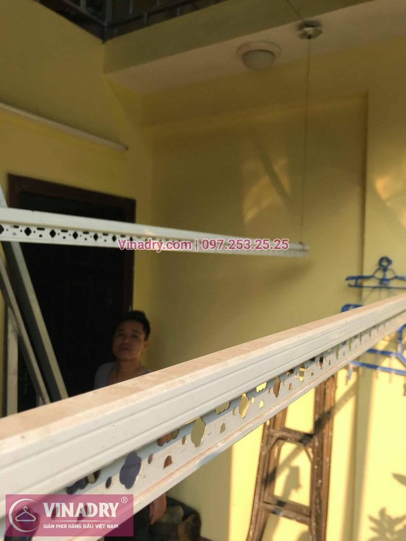 Vinadry lắp giàn phơi thông minh HP368 tại Hai Bà Trưng, phường Bạch Đằng cho nhà anh Đại - 02
