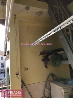 Vinadry lắp giàn phơi thông minh HP368 tại Hai Bà Trưng, phường Bạch Đằng cho nhà anh Đại