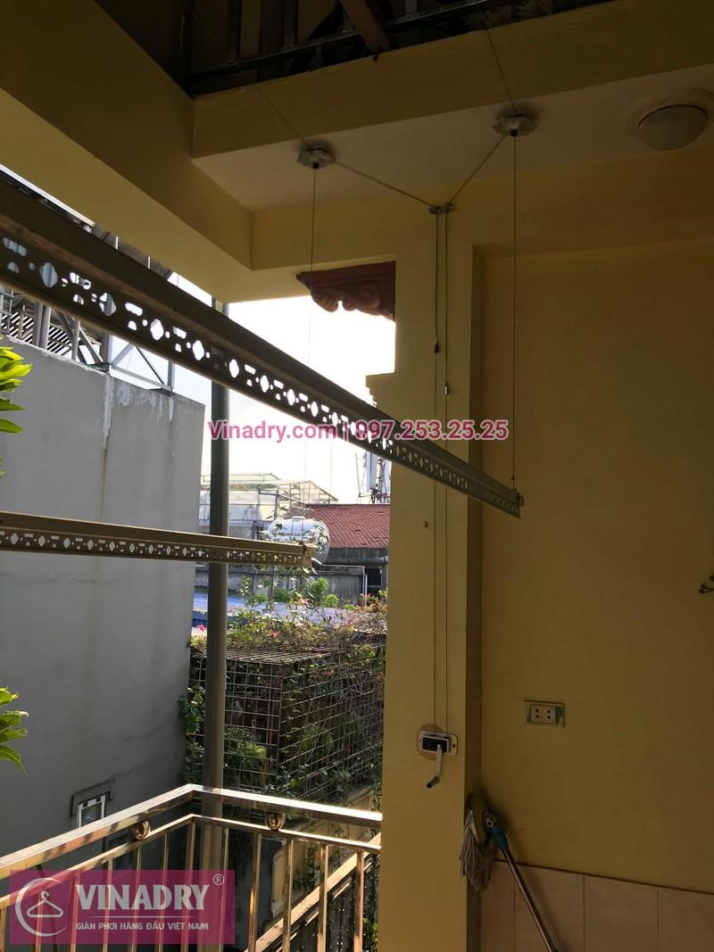 Vinadry lắp giàn phơi thông minh HP368 tại Hai Bà Trưng, phường Bạch Đằng cho nhà anh Đại - 03