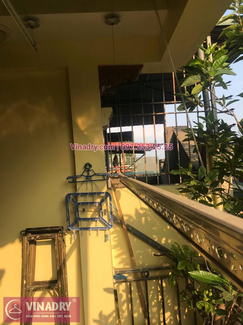 Vinadry lắp giàn phơi thông minh HP368 tại Hai Bà Trưng, phường Bạch Đằng cho nhà anh Đại - 04