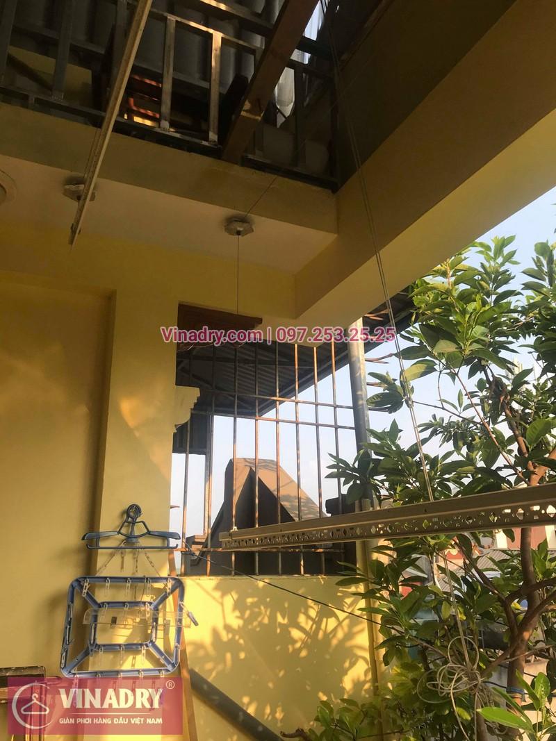 Vinadry lắp giàn phơi thông minh HP368 tại Hai Bà Trưng, phường Bạch Đằng cho nhà anh Đại - 05