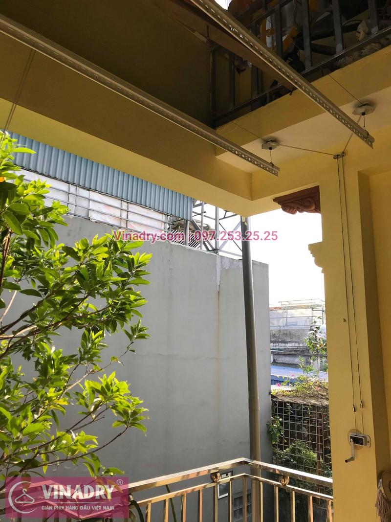 Vinadry lắp giàn phơi thông minh HP368 tại Hai Bà Trưng, phường Bạch Đằng cho nhà anh Đại - 06