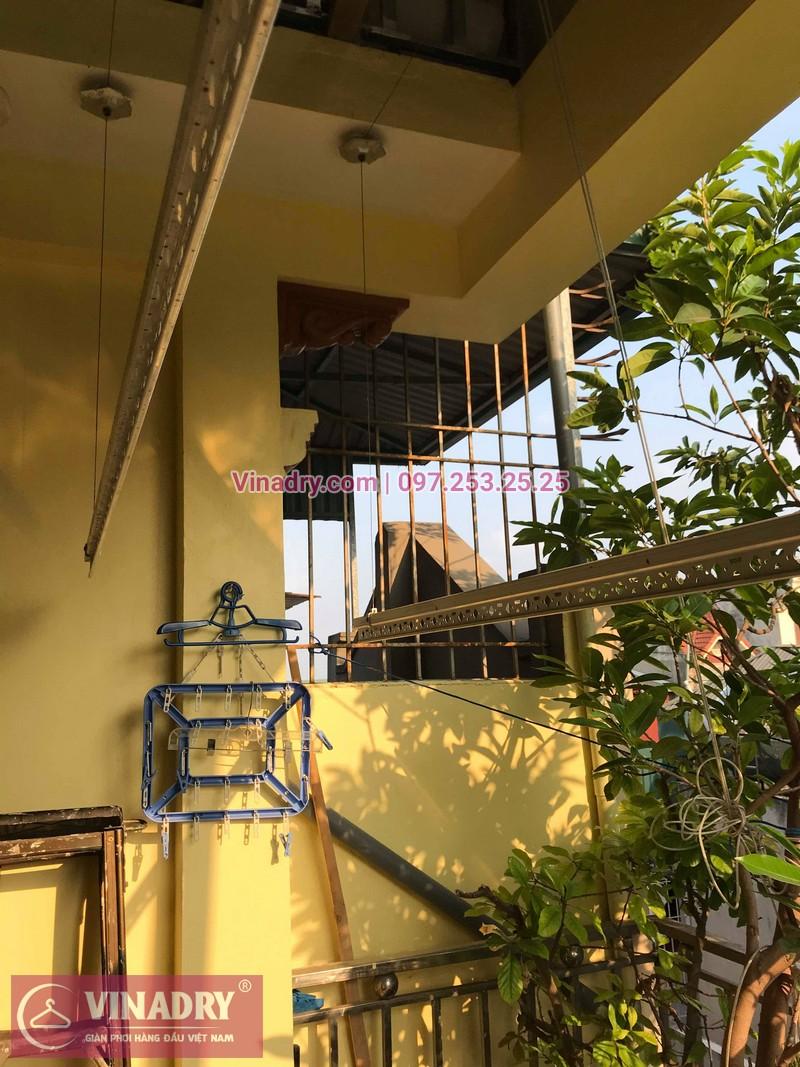 Vinadry lắp giàn phơi thông minh HP368 tại Hai Bà Trưng, phường Bạch Đằng cho nhà anh Đại - 07