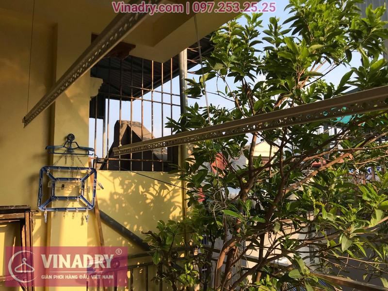 Vinadry lắp giàn phơi thông minh HP368 tại Hai Bà Trưng, phường Bạch Đằng cho nhà anh Đại - 09