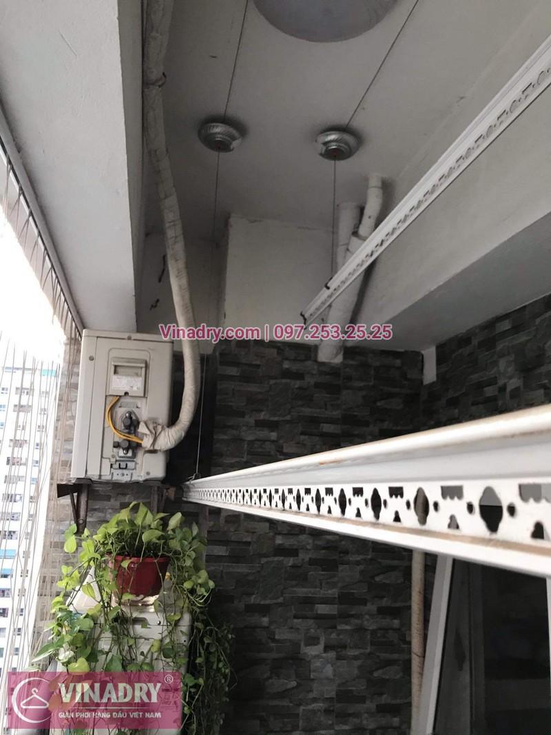 Vinadry lắp giàn phơi thông minh KS950 tại chung cư HH Linh Đàm cho nhà chú Tới - 05