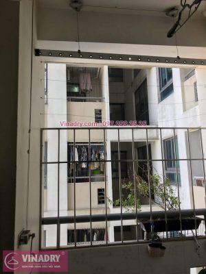 Vinadry sửa chữa giàn phơi thông minh tại Lê Văn Lương cho nhà chú Kỷ - 10