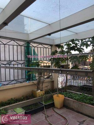 Vinadry sửa chữa giàn phơi Hà Nội giá rẻ, thay 2 dây cáp giàn phơi chất lượng tại 112 Hoàng Quốc Việt, Bắc Từ Liêm cho nhà cô Hà - 07