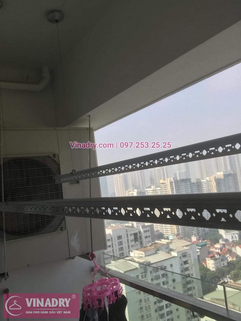 Vinadry thay bộ tời giàn phơi HP999B tại chung cư 90 Nguyễn Tuân, Thanh Xuân cho nhà anh Lực - 02
