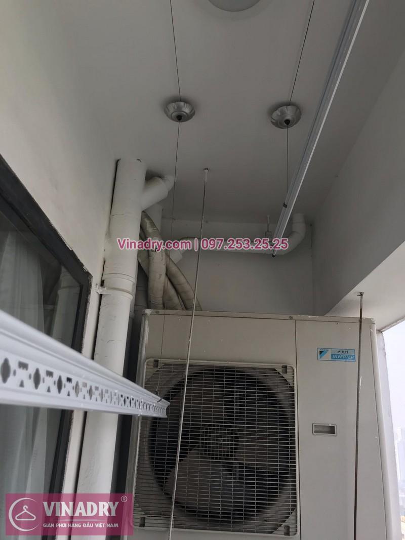 Vinadry thay bộ tời giàn phơi HP999B tại chung cư 90 Nguyễn Tuân, Thanh Xuân cho nhà anh Lực - 04