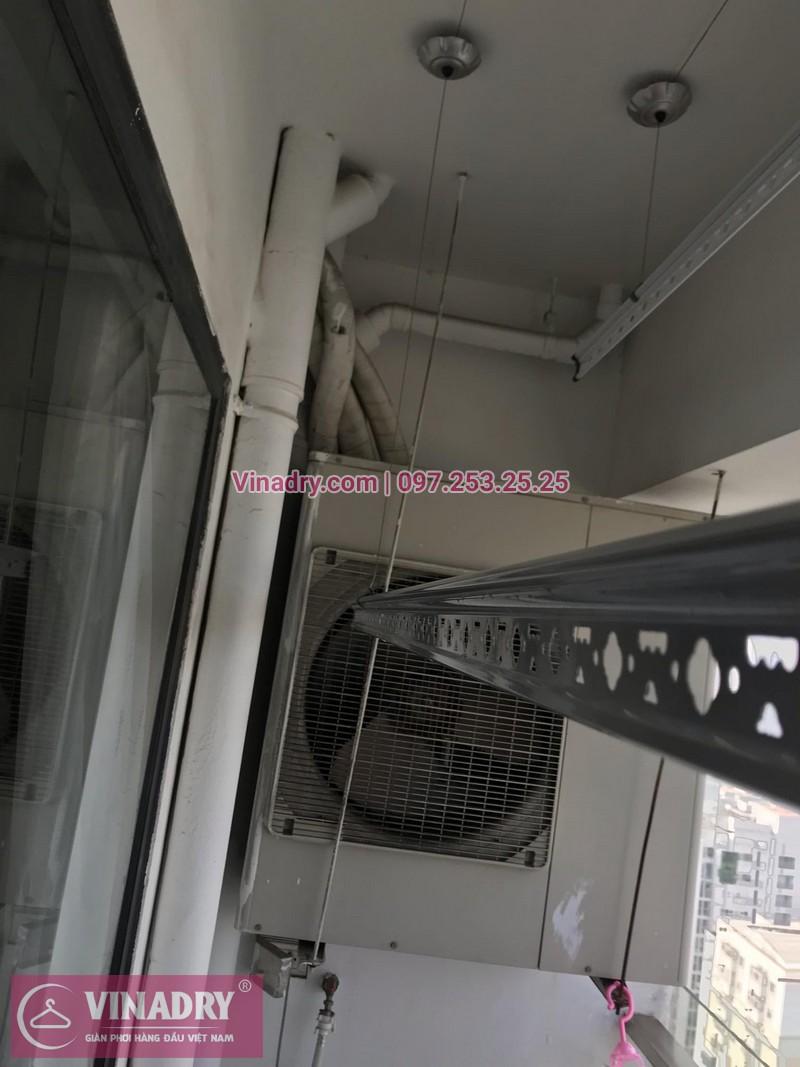 Vinadry thay bộ tời giàn phơi HP999B tại chung cư 90 Nguyễn Tuân, Thanh Xuân cho nhà anh Lực - 05