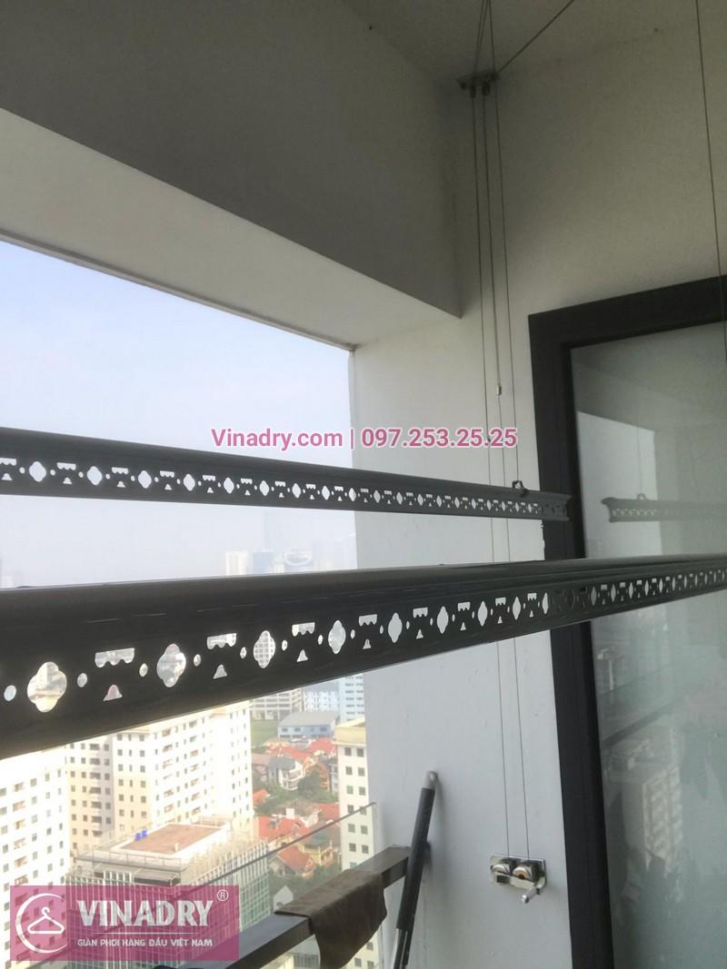 Vinadry thay bộ tời giàn phơi HP999B tại chung cư 90 Nguyễn Tuân, Thanh Xuân cho nhà anh Lực - 06