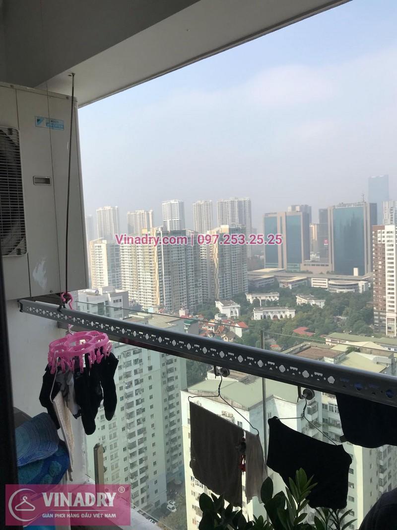 Vinadry thay bộ tời giàn phơi HP999B tại chung cư 90 Nguyễn Tuân, Thanh Xuân cho nhà anh Lực - 10