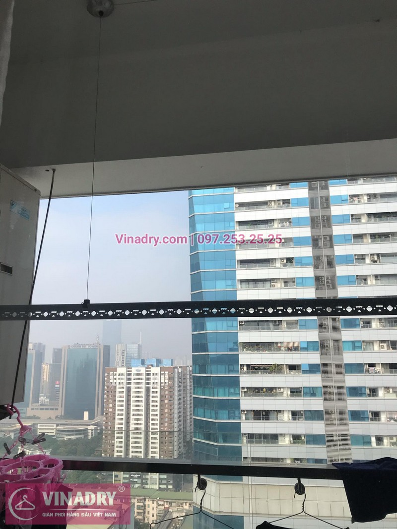 Vinadry thay bộ tời giàn phơi HP999B tại chung cư 90 Nguyễn Tuân, Thanh Xuân cho nhà anh Lực - 11