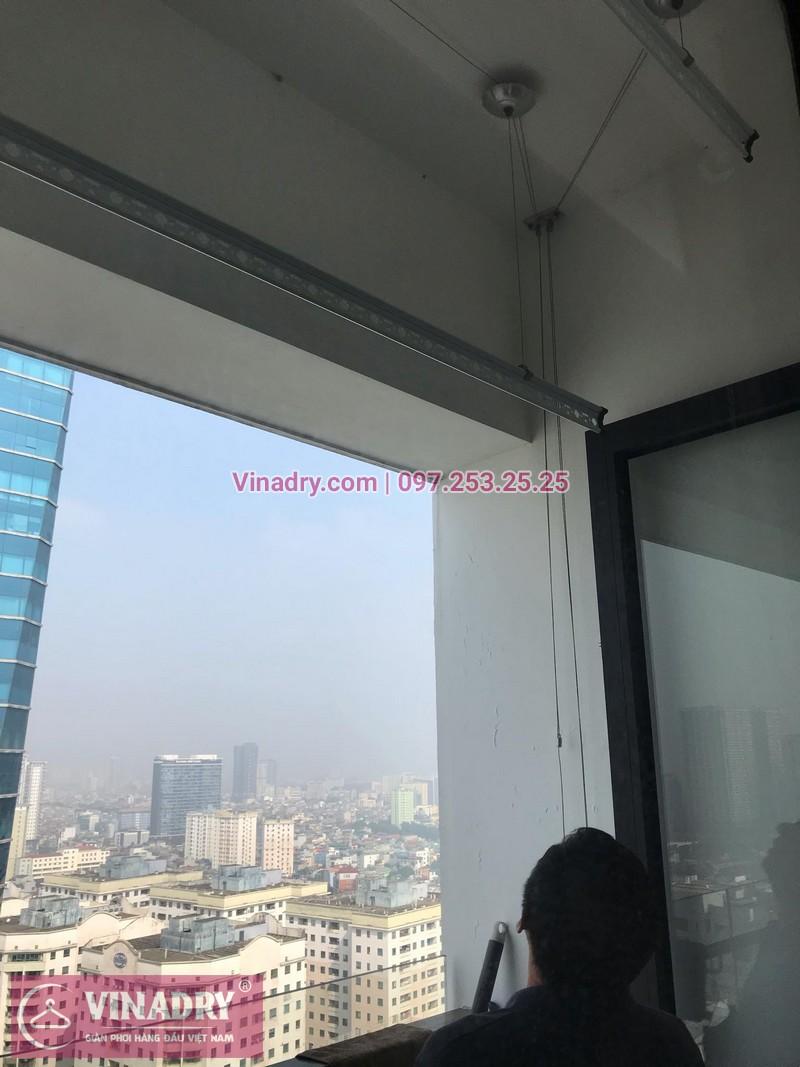Vinadry thay bộ tời giàn phơi HP999B tại chung cư 90 Nguyễn Tuân, Thanh Xuân cho nhà anh Lực - 12