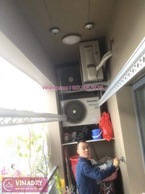 Vinadry thay bộ tời HP999B tại Đống Đa, chung cư Capital Garden, 102 Trường Chinh cho nhà anh Chiến