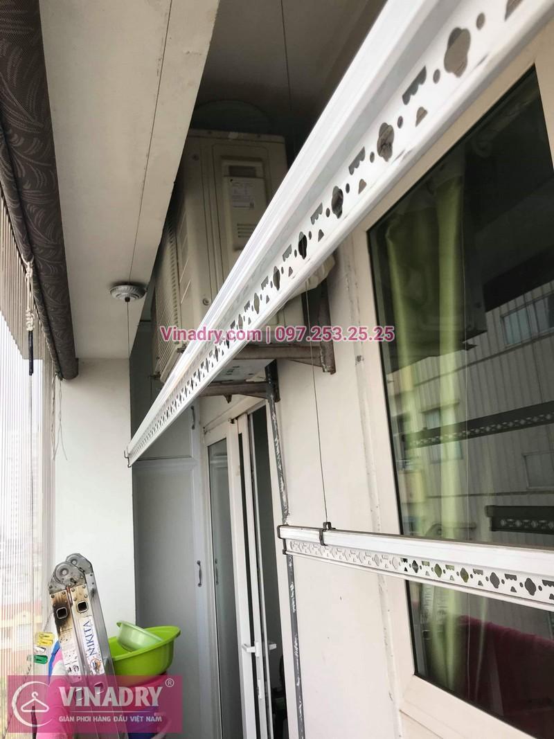 Vinadry thay bộ tời giàn phơi KS950 cho nhà anh Tạo tại chung cư 25 Tân Mai, quận Hoàng Mai - 01