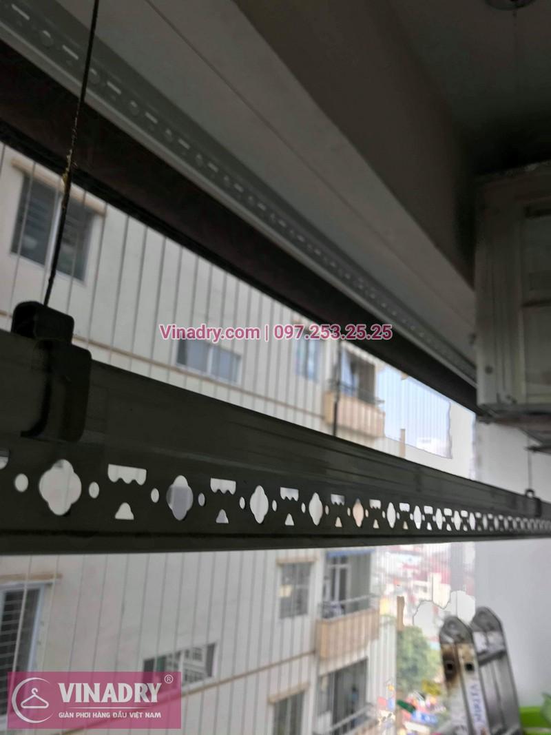 Vinadry thay bộ tời giàn phơi KS950 cho nhà anh Tạo tại chung cư 25 Tân Mai, quận Hoàng Mai - 02