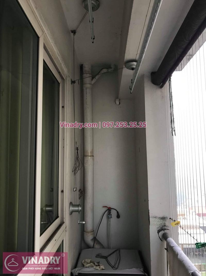 Vinadry thay bộ tời giàn phơi KS950 cho nhà anh Tạo tại chung cư 25 Tân Mai, quận Hoàng Mai - 06